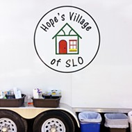 Continued hope: Hope's Village SLO provides showers for the homeless