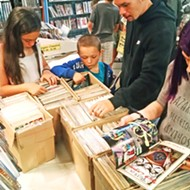 Heroes and sidekicks of all ages gather at Captain Nemo for Free Comic Book Day
