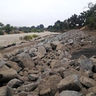 Salinas River bank shored up to protect Paso wells