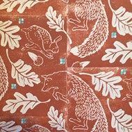 In the details: Central Coast printmakers create repeating patterns on banners