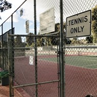 High costs, neighbor opposition put Sinsheimer Park tennis court lighting in jeopardy, again