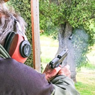 Target practice in Santa Margarita: We came, we shot, we ate