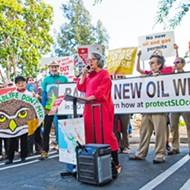 Hundreds stand against drilling, fracking on public lands