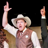 Melodrama regales audiences with comic tales of <b><i>How the West Was Really Won</i></b>