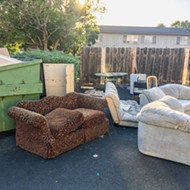 Student Guide: As students move, abandoned furniture builds up on SLO's curbs, and cleaning it up is no small task