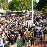 Protests continue against police violence with peaceful event in downtown SLO