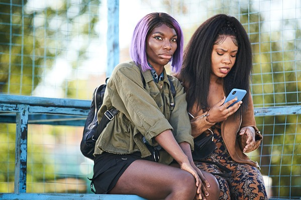 FRIENDSHIP'S LIMITS After Arabella (Michaela Coel, left) is roofied and raped during a night of partying, her longtime friend, Terry (Weruche Opia), tries to help her overcome the trauma while struggling with her own set of emotions, in I May Destroy You, a BBC series airing on HBO. - PHOTO COURTESY OF THE BBC AND HBO