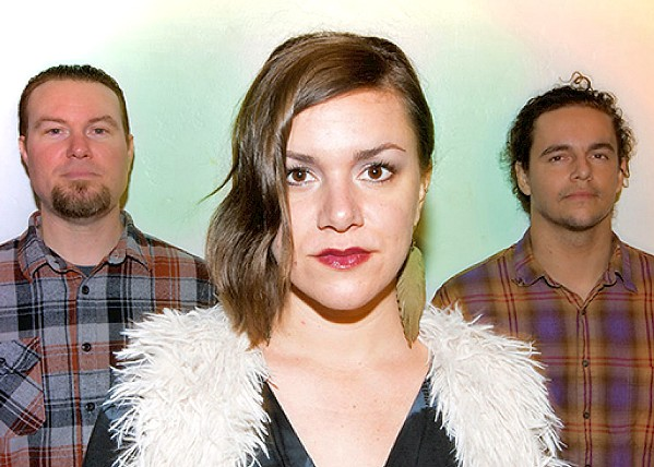 FEEL THEIR HEARTBEAT Local ethereal indie rock and pop act B & The Hive releases Heart Beat, their new EP, on Sept. 25. - PHOTO COURTESY OF B & THE HIVE