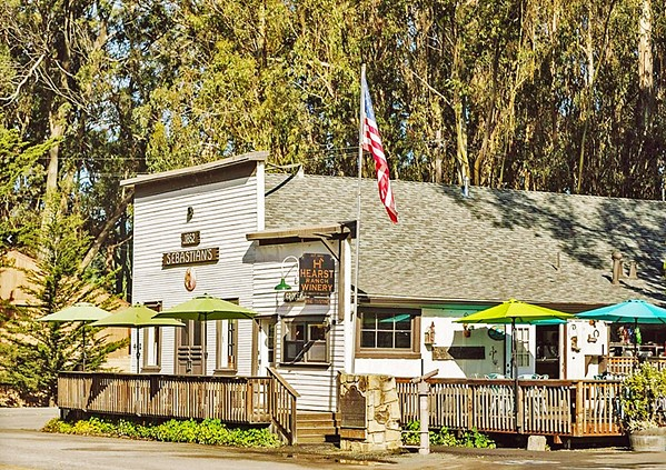 COMING SOON The Sebastian building in San Simeon (pictured) will no longer be the location of the community's post office. Residents will need go to 250 San Simeon Ave., suite 7A, for their postal needs, starting Sept. 28. - PHOTO COURTESY OF HEARST RANCH WINERY