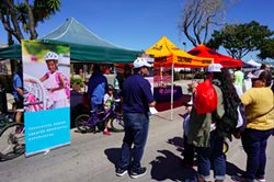 FINDING FEEDBACK Santa Maria sought public engagement throughout its drafting process for the now complete Active Transportation Plan, including at Open Streets Santa Maria in 2019. A virtual town hall is slated for Sept. 30. - PHOTO COURTESY OF CITY OF SANTA MARIA