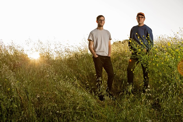 MUSIC LOVERS Married couple John Metz (left) and Caleb Nichols are Soft People, who just released their second album, Absolute Boys. - PHOTO COURTESY OF SOFT PEOPLE BY DEBORAH DENKER