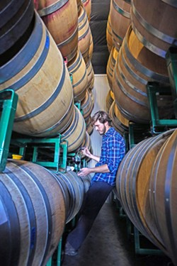 BARREL TIME It's that time of year, when tasting room visitors can get a sneak peak at what's coming out of the barrel. ONX Wines is including barrel tastings as part of wine tastings for Harvest Wine Weekend. - PHOTO COURTESY OF ONX WINES