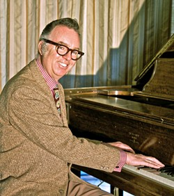 PIANO MAN Carl Sonny Leyland will act as emcee at this year's virtual Jazz Jubilee by the Sea hot jazz festival, Oct. 24 through 25, brought to you by the Basin Street Regulars. - PHOTO COURTESY OF CARL SONNY LEYLAND