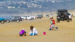 REOPEN FOR BUSINESS State Parks announced plans to reopen the Oceano Dunes to vehicles in series of three phases starting on Oct. 30, when street legal vehicles will be allowed into the park in limited numbers. - FILE PHOTO BY JAYSON MELLOM