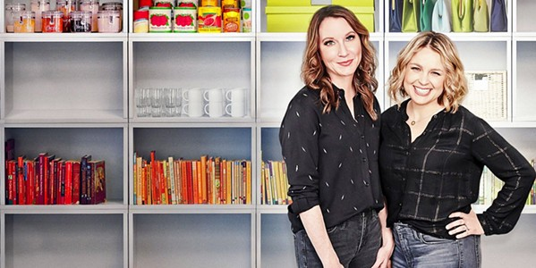 MAKING RAINBOWS Two organization specialists—Clea Shearer and Joanna Teplin—travel to make the home dreams of both everyday Americans and celebrities a reality. - PHOTO COURTESY OF THE HOME EDIT