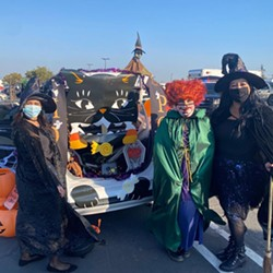 HALLOWEEKEND The city of Santa Maria celebrated Halloween with a drive-thru event on Oct. 29 and a 'trunk or treat' event hosted by the police department on Oct. 30. - PHOTO COURTESY OF SANTA MARIA POLICE DEPARTMENT FACEBOOK PAGE
