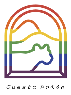 SAFE SPACE In the hopes of creating a community for LGBTQ-plus students and faculty, Dylan Michael Canterbury Baker helped start the Cuesta Pride club. - IMAGE COURTESY OF CUESTA PRIDE