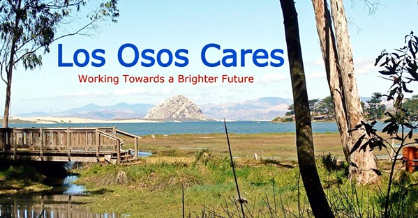 CARING FOR OTHERS Linda Quesenberry, her team, and their collaborative partners have remained available for the Los Osos, Morro Bay, and Cayucos community, serving more than 500 people this year. - IMAGE COURTESY OF LOS OSOS CARES