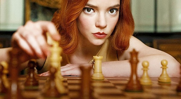 KILLER QUEEN Anya Taylor-Joy stars as orphaned chess prodigy Beth Harmon, whose keen mind makes her a world-class player but also causes her torment, in The Queen's Gambit, on Netflix. - PHOTO COURTESY OF FLITCRAFT