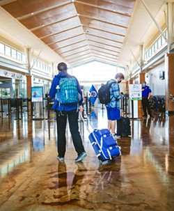 A PURPLE CHRISTMAS School officials worry that holiday travel and gatherings could lead to increased COVID-19 cases locally and further obstacles to in-person reopening plans. - PHOTO BY JAYSON MELLOM