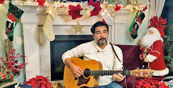 """STRING THEORY According to PCPA, George Walker (pictured) will play """"just about every instrument that has strings"""" during Home for the Holidays, an upcoming virtual cabaret event. - PHOTO COURTESY OF ERIK STEIN"""