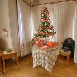 CHRISTMAS SPIRIT Decorated for the holidays, the Point San Luis Lighthouse is ready for virtual tours. - PHOTOS COURTESY OF THE POINT SAN LUIS LIGHTHOUSE KEEPERS