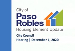 MAKING SPACE Paso Robles gives the green light to new housing element update. - IMAGE COURTESY OF THE CITY OF PASO ROBLES