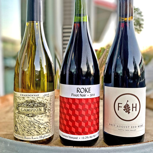 HOLIDAY GIFT PACK Pismo Beach's Tastes of the Valleys has a Central Coast wines gift pack on sale for the holiday season—plus more than 700 different wines to choose from. - PHOTO COURTESY OF WINESNEAK.COM