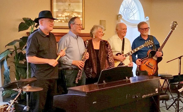 SWING FLING The Basin Street Regulars present Amigos Swing and Jazz Band streamed live on Dec. 20. - PHOTO COURTESY OF AMIGOS SWING AND JAZZ BAND