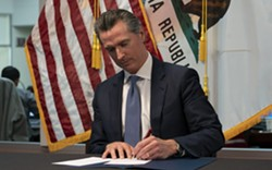 COVID-19 IS EVERYWHERE Gov. Gavin Newsom extended a regional stay-at-home order on Dec. 29 amid a record surge in COVID-19 cases. - PHOTO COURTESY OF GOV. GAVIN NEWSOM'S OFFICE