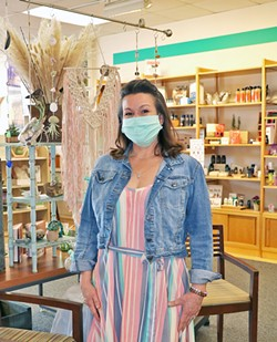 NEW VENTURES Roxi Buchanan opened The Natural Toolbox at the Pismo Beach Premium Outlets in October, after losing her job at the Cracked Crab restaurant due to the COVID-19 pandemic. - PHOTO COURTESY OF THE NATURAL TOOLBOX