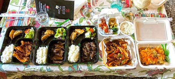 Kochi Korean BBQ in Atascadero. - FILE PHOTO BY BETH GIUFFRE