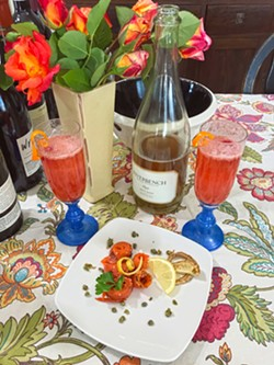 Somm's Kitchen SIP Certified wine pairing was held virtually. - FILE PHOTO BY BETH GIUFFRE