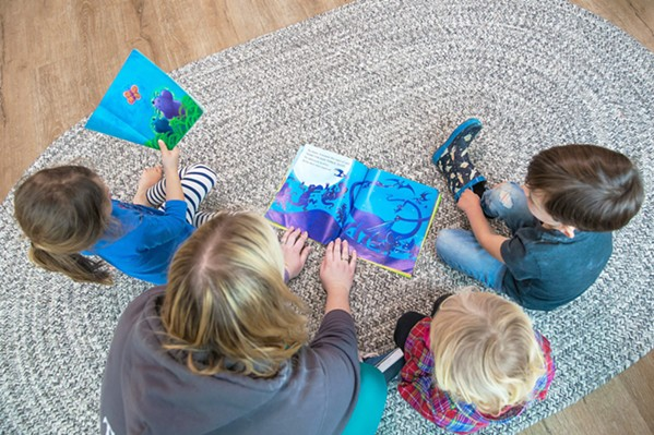 A HELPING HAND The Economic Vitality Corporation is hosting a supply drive aimed at gathering much-needed COVID-19 safety supplies and funds for SLO County's hurting child care providers. - FILE PHOTO BY JAYSON MELLOM