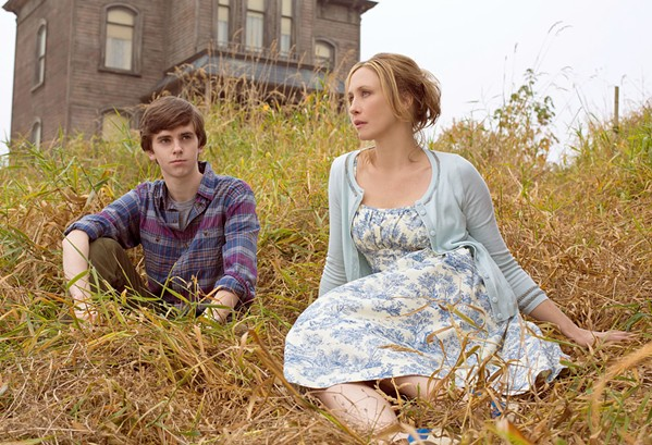 TWO PEAS IN A POD Norman Bates (Freddie Highmore) and his domineering mother, Norma Louise (Vera Farmiga), share a slow descent into madness, in the TV series Bates Motel, screening on Netflix. - PHOTO COURTESY OF UNIVERSAL TELEVISION