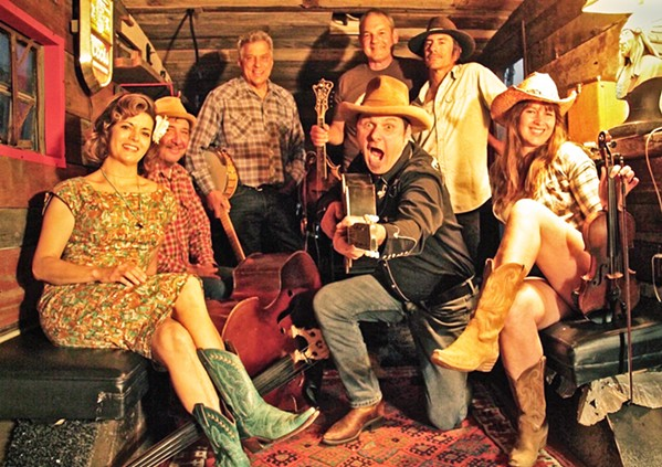 GET SHUCKED! The Mother Corn Shuckers release their fourth album, All In, on Jan. 22, and it's a real barn burner! - PHOTO COURTESY OF MARCIJEAN FAMBRINI