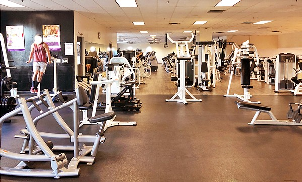 WORKING OUT SLO has cited Kennedy Club Fitness (pictured) three times for allegedly violating COVID-19 health orders by allowing indoor exercise. - PHOTO COURTESY OF THE CITY OF SAN LUIS OBISPO