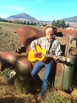 """SONG OF THE TIMES Local singer-songwriter Ted Waterhouse re-releases """"Woody's Ghost,"""" a song about Woody Guthrie's political musical commentary of America. - PHOTO COURTESY OF CHERI MASON"""