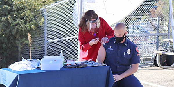HEAVY LIFT SLO County Public Health has administered the majority of local COVID-19 vaccinations thus far. - FILE PHOTO COURTESY OF SLO COUNTY