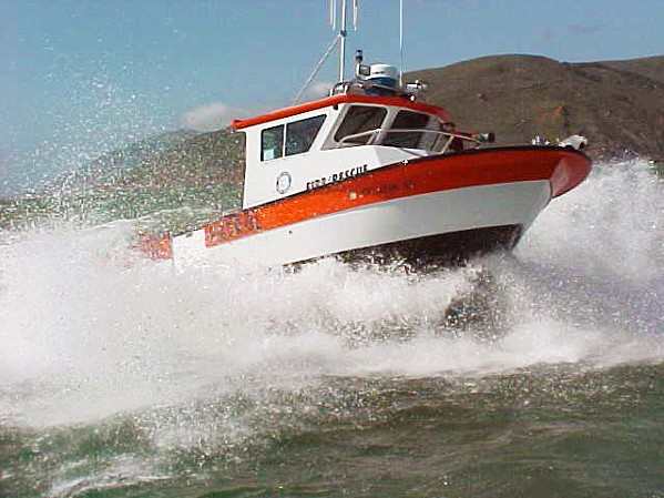 RANGERS OR COPS? At a Port San Luis Harbor Commission meeting on Jan. 26, staff presented changes to four Harbor Patrol policies that would bring them in line with recently passed laws. - FILE PHOTO COURTESY OF PORT SAN LUIS HARBOR DISTRICT