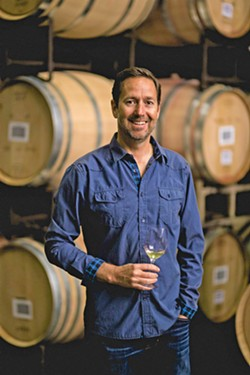 CADRE CREATOR John Niven's new winery, Cadre, showcases the aromatic white wines of the Edna Valley starting with albariño, a grape variety he fell in love with 15 years ago. - PHOTO COURTESY OF JOHN NIVEN