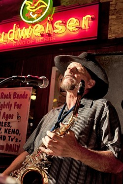 FOREVER AND ALWAYS North County singer-songwriter John Wessel delivers a new full-length album, with some tracks co-written by Jimi Macon of the Gap Band, available on Rhombus Records. - NEW TIMES FILE PHOTO