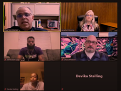 COMING TOGETHER Stakeholders in Lompoc gang prevention held a virtual forum on Feb. 1 to give updates on their work in the community. - SCREENSHOT FROM CITY OF LOMPOC'S YOUTUBE PAGE