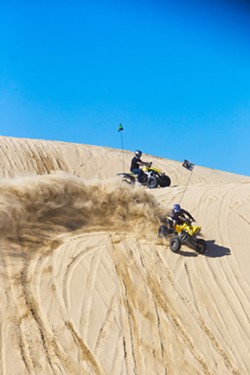 VEHICLE FREE? During a virtual meeting on March 18, the California Coastal Commission will consider a plan to phase out off-roading at the Oceano Dunes SVRA. - FILE PHOTO BY JAYSON MELLOM