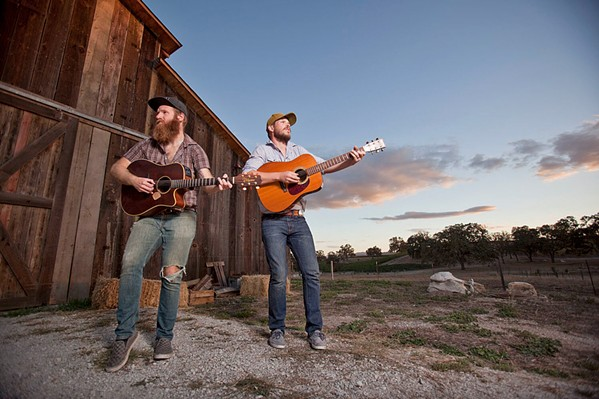 BEAR MARKET BENEFIT Local folk power duo Bear Market Riot will play a virtual benefit concert for RISE on Feb. 19, from the SLO Brew Rock stage. Limited outdoor dining is available. - PHOTO COURTESY OF BEAR MARKET RIOT