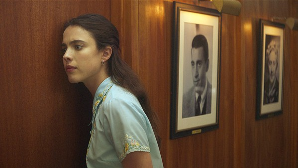 COMING OF AGE Margaret Qualley stars as Joanna, a recent college grad who goes to work for the literary agent representing J.D. Salinger, in My Salinger Year—the March 9 opening film of the SLO International Film Festival. - PHOTO COURTESY OF PARALLEL FILM PRODUCTIONS
