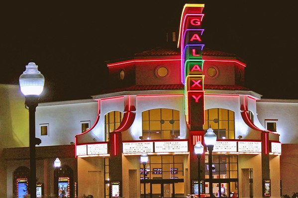 HELP Cinema Square LLC's property owners, who lease to Galaxy Theatres Atascadero, asked the city of Atascadero for help in delaying a possible foreclosure. - PHOTO COURTESY OF GALAXY THEATRE ATASCADERO FACEBOOK PAGE