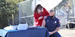 PROGRESS Amid a decrease in COVID-19 cases and an increase in vaccinations, SLO County moved into the state's red tier for economic activity on March 3. - FILE PHOTO COURTESY OF SLO COUNTY