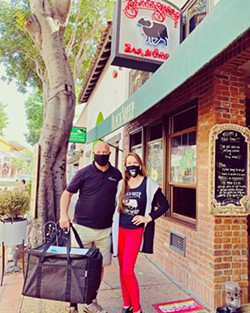 BOARD MEMBER Black Sheep Bar & Grill is a member of the Central Coast Restaurant Coalition, SLO, which hopes to help restaurants in SLO get back on their feet. - PHOTO COURTESY OF CATT HASBROOK