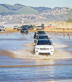 POWER DOWN Off-roading communities mourn the future loss of access to the Oceano Dunes, environmental advocates celebrate it, and local communities look to the future. - FILE PHOTO BY JAYSON MELLOM